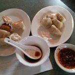 Dumplings, Pork with Bok Choy & Three Delicious