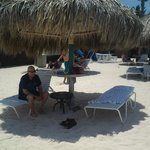 Palapa on Tradewinds beach. Thank you Hermina.