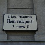 A peculiar street sign where the hotel is