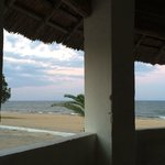 View from one of the gazebos on the beach.
