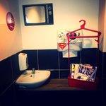 Les toilettes!