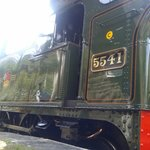 5541 has been beautifully restored to this excellent locomotive seen at Parkend.