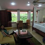 Our room, spacious and comfortable.