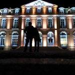 Iluminação externa do Palácio.