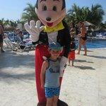 Luca et Mickey mexicain!!!