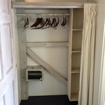 Closet and hangers