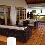 Front Deck of Villa