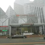 Crown Plaza Hotel, Shenyang in November mist