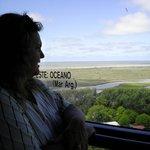 Vista desde el Faro San Antonio (dentro de las Termas)