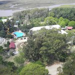 Vista del Complejo de las termas desde el Faro San Antonio