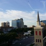 A view of downtown St. Pete from our window.