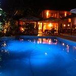 restaurante e piscina