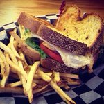 Fried Bologna Sandwich and fresh cut fries!