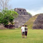 Us at Xunantunich