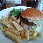 Hamburger and Hand Cut Chips