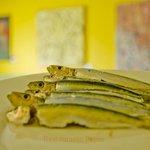 Unas sardinas a la plancha