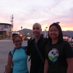 With Matt, our diving instructor