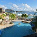 Scrub Island resort setting