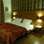 Neu eingerichtete Zimmer mit gutem Schlafcomfort