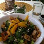Krishna Salad with Grilled Chicken Added