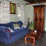 Living Room in Harpy Eagle Cabin