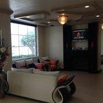 Lobby TV area