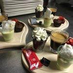 Café Gourmand de La place