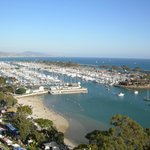 beautiful view and just around the corner...Dana Point Harbor is a great place to spend the day!