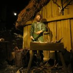 """2.  Seen on the """"ride""""-- Viking figures in an authentic reproduction of Jorvik."""