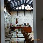 """The """"Winter Garden"""" (Breakfast room)"""