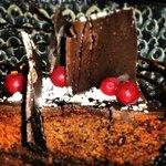 Un terrible pastís de la iaia...xocolata i meló. Increïble!