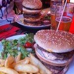 triple et double burgers