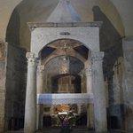 Il ciborio in marmo