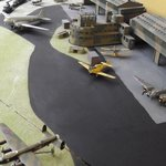 Model of Grangemouth Airfield