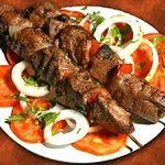 Lamb kebab plater