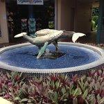 Fountain at Whalers Village Lahania Maui Hawaii