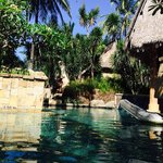 Villa with garden pool