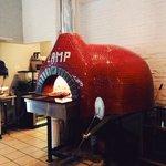 The proper oven to make a proper pizza.