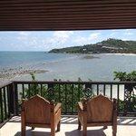 Balcón con vista a la playa