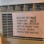 Note on the air conditioner