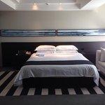 Spacious resort room