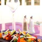 fruits et légumes mix salade