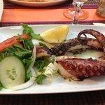 octopus grillé