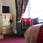 One of our double rooms here at Gregorys Guest House in York