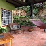 The porch Villa #2