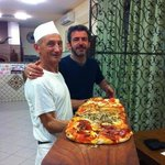 A pizza you will never forget
