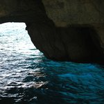 the blue grotto water