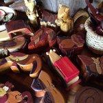 Lindo trabajo de madera
