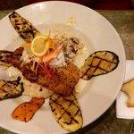 Pistachio crusted Flounder