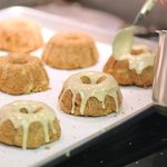 Apple brown butter spice cake